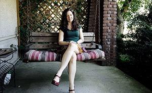 heather on porch(300)